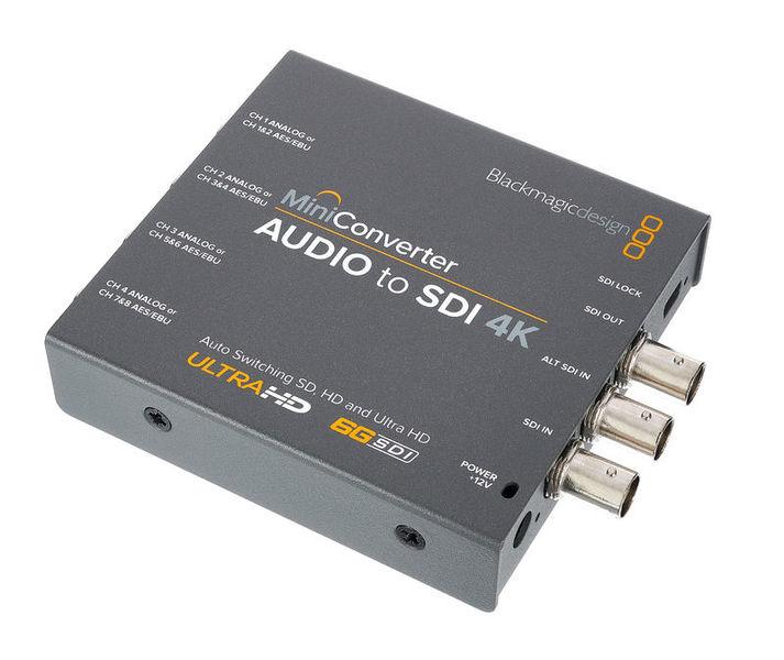 Blackmagic Design Mini Converter Audio-SDI 4K