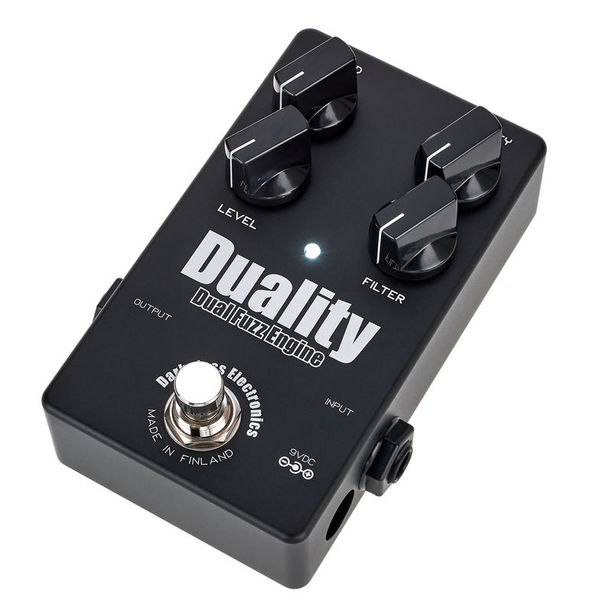 Darkglass Duality Fuzz Black LTD