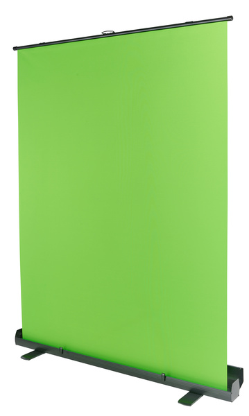 Stairville Green Screen Roll-Up 1.5x2m