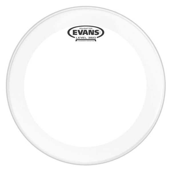 "Evans 18"" EQ4 Frosted Bass Drum"