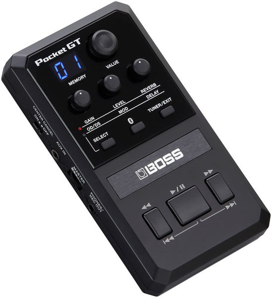 Pocket GT Guitar Multi-FX Boss