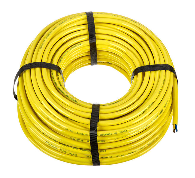 Stairville PUR-Cable H07BQ-F 3x1,5mm² Yel