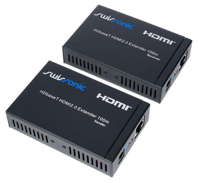 HDbaseT HDMI2.0 Extender 100m Swissonic