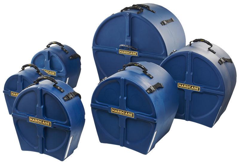 Hardcase HRockFus6 F.Lined Set D.Blue