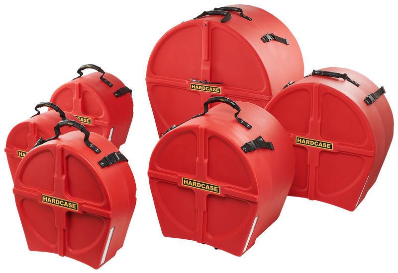 Hardcase HRockFus6 F.Lined Set Red