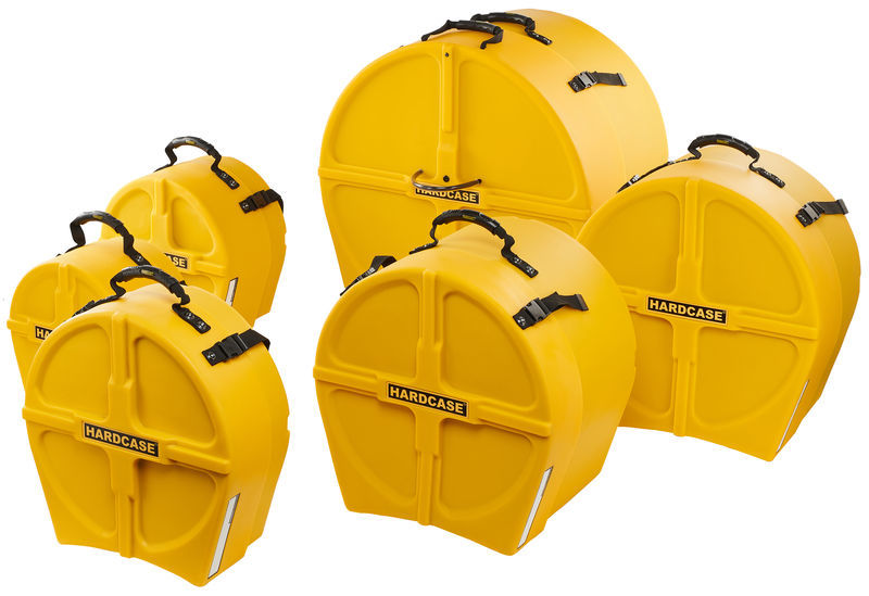 Hardcase HRockFus6 F.Lined Set Yellow