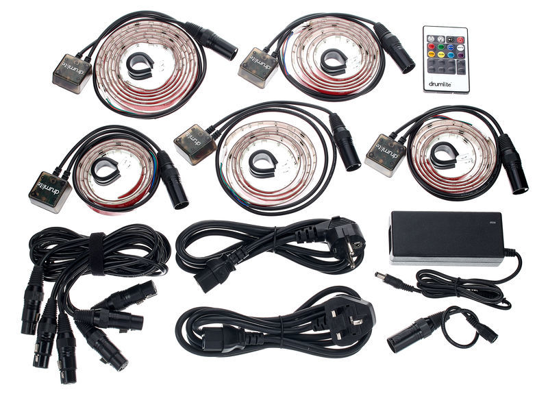 Drumlite DL-2T Full Kit Starter Pack