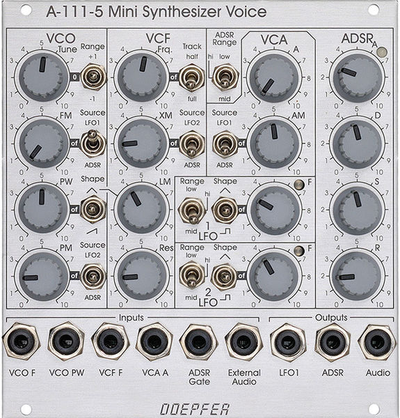 A-111-5 Synthesizer Voice Doepfer