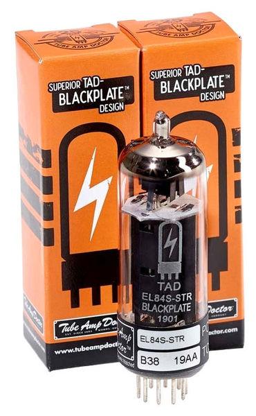 RT772 EL84 Blackpl. Tube Pair TAD