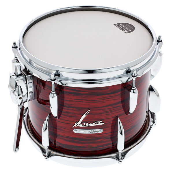 """Sonor 10""""x08"""" Vintage Series Red Oy."""