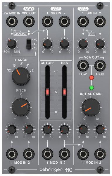 110 VCO/VCF/VCA Behringer