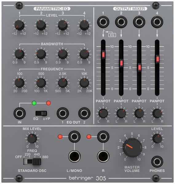 305 EQ/Mixer/Output Behringer