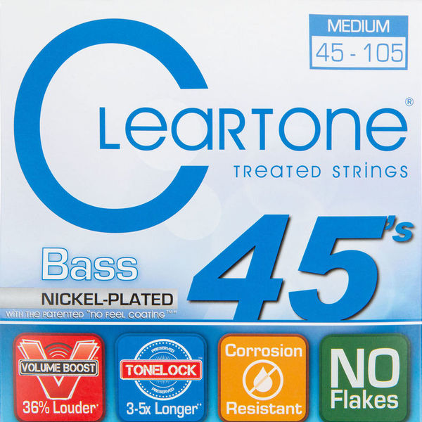 Cleartone Nickel Plated Bass 6445