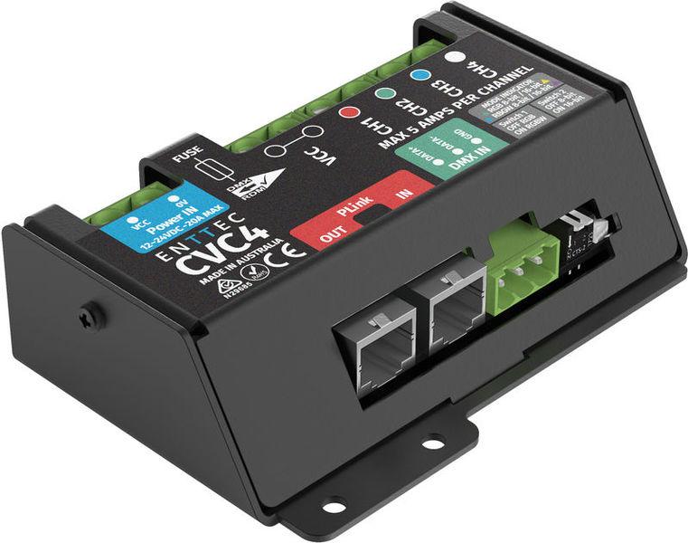 CVC4 CV LED Dimmer 4Ch. Enttec