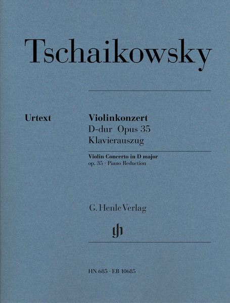 Henle Verlag Tschaikowsky Violinkonzert