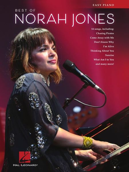 Hal Leonard Best Of Norah Jones Piano