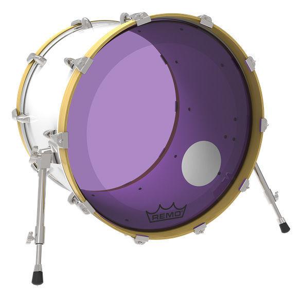 """Remo 24"""" P3 Colortone Reso Purple"""