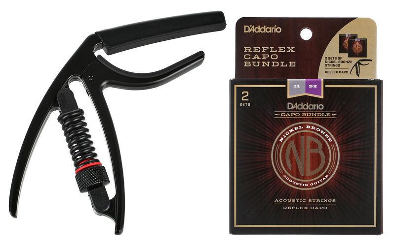 Daddario NB1152+CP17 Strings & Capo