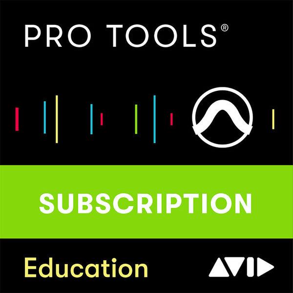 Avid Pro Tools 1Y Subscription EDU