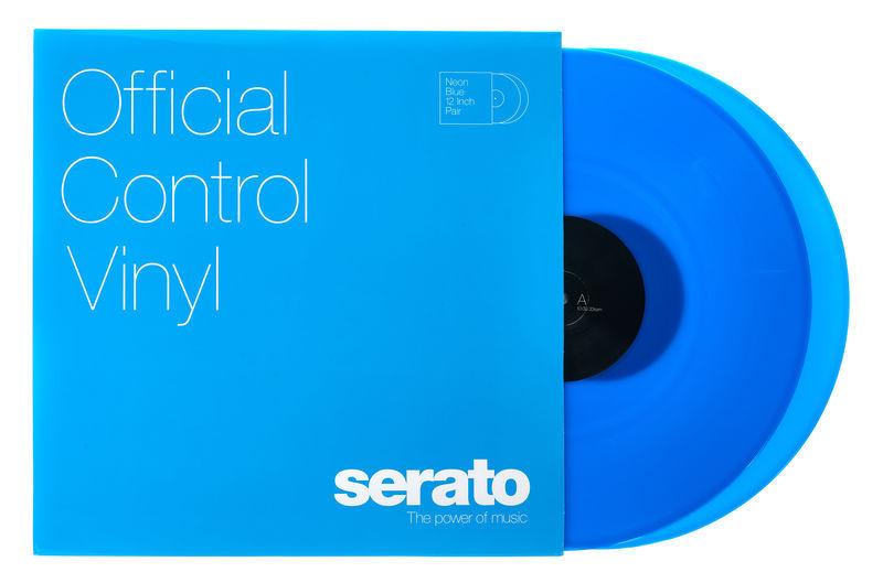 Serato Neon-Series Vinyl Blue