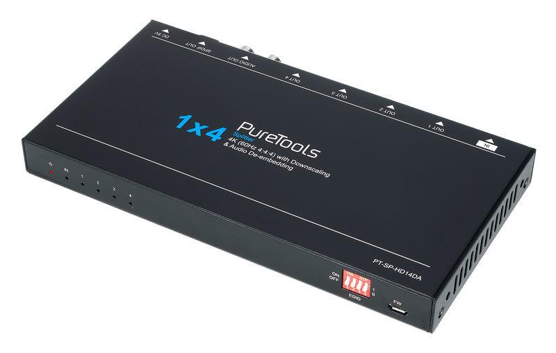 PureLink HDMI Splitter 1x4, Scal,4K DA