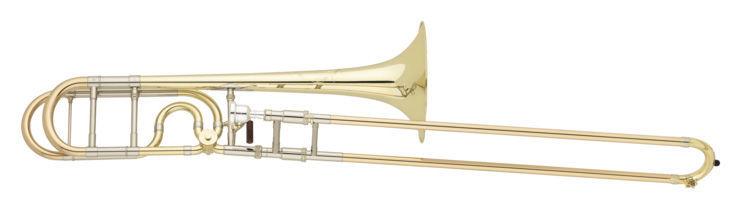 S.E. Shires TBQAlessi Bb/F Tenor Trombone