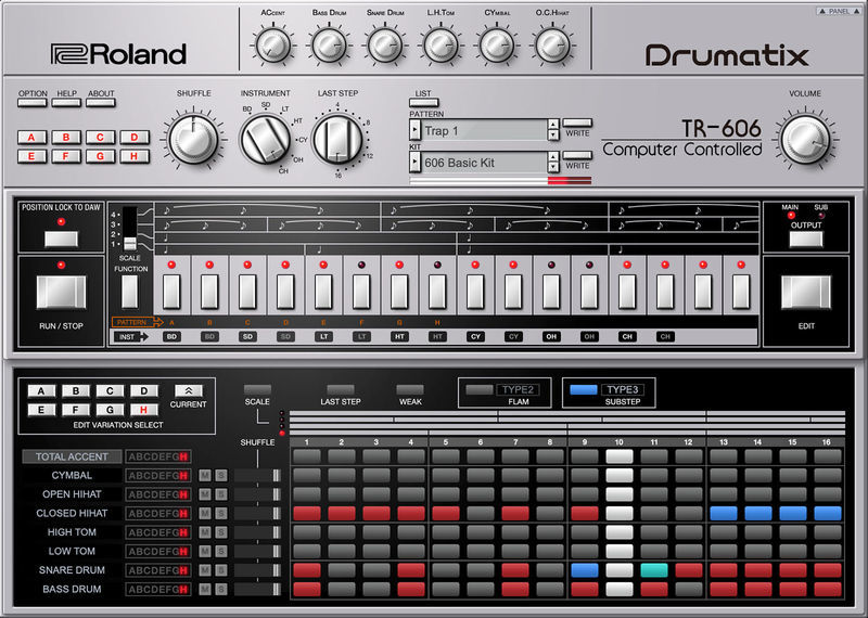 Roland Cloud TR-606