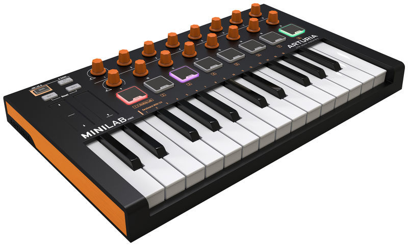 MiniLab MKII Orange Edition Arturia