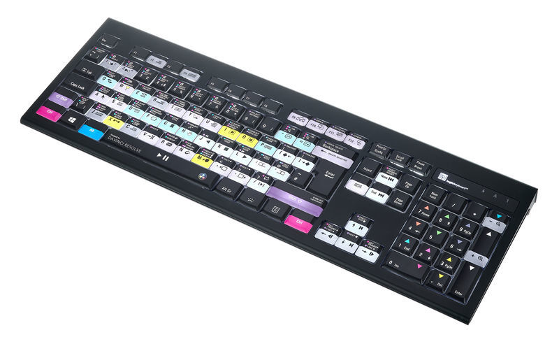 Logickeyboard Davinci Resolve UK PC