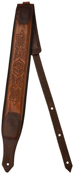 Minotaur Celtic Rim Leather PaddedStrap