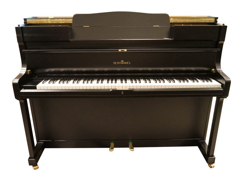 Schimmel Piano used black