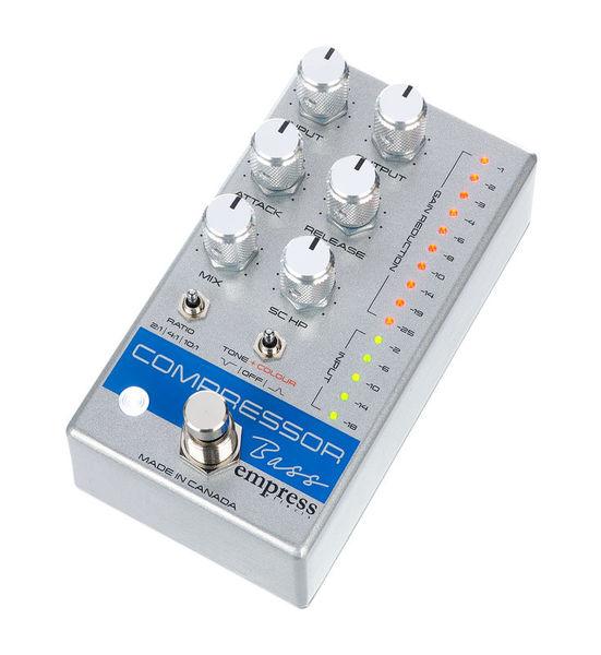 Empress Effects Bass Compressor Silver Spk