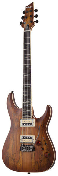 Schecter C-1 Exotic Spalted Maple SNVB