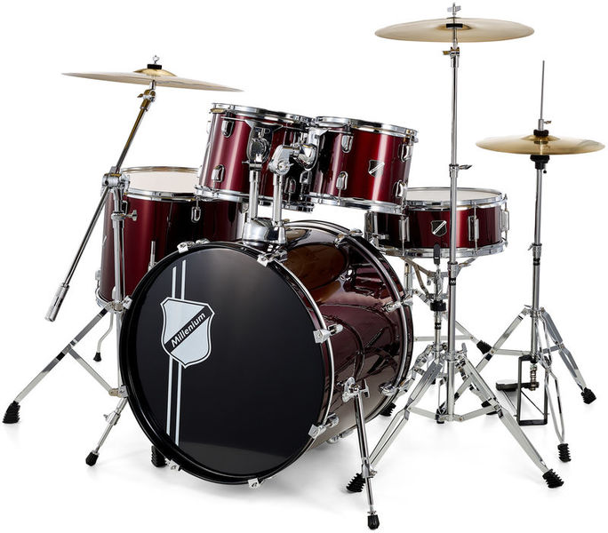 Millenium Focus 20 Drum Bundle Red