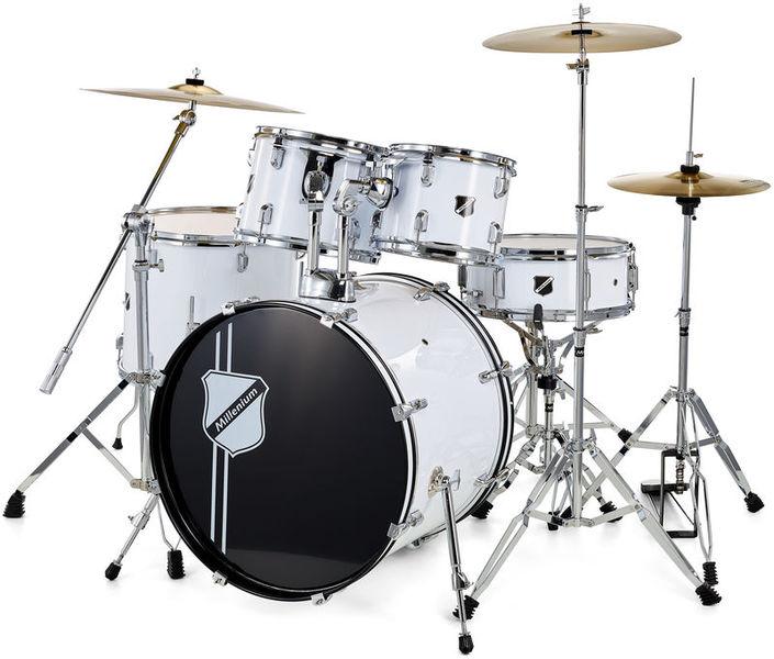 Millenium Focus 22 Drum Bundle White