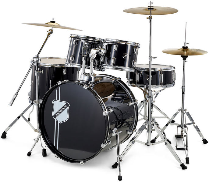 Millenium Focus 22 Drum Bundle Black