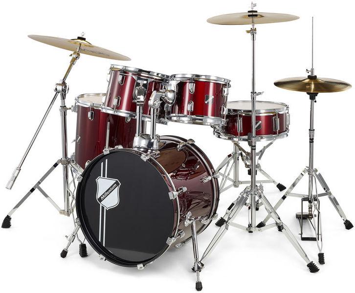 Millenium Focus 18 Drum Bundle Red