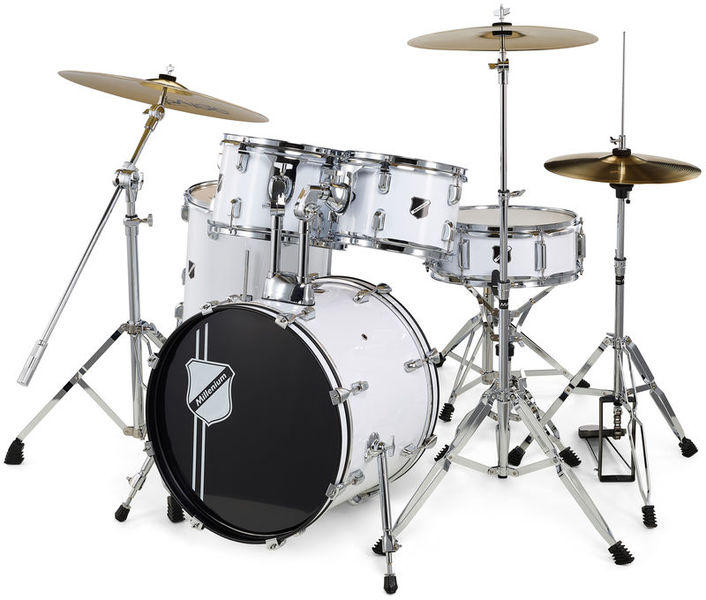 Millenium Focus 18 Drum Bundle White