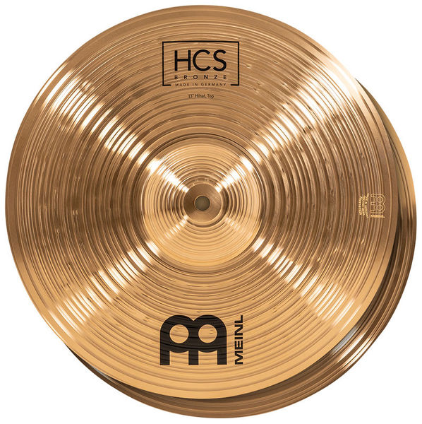 """13"""" HCS Bronze Hi-Hat Meinl"""