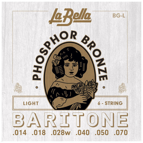La Bella BG-L Phosphor Bronze Baritone