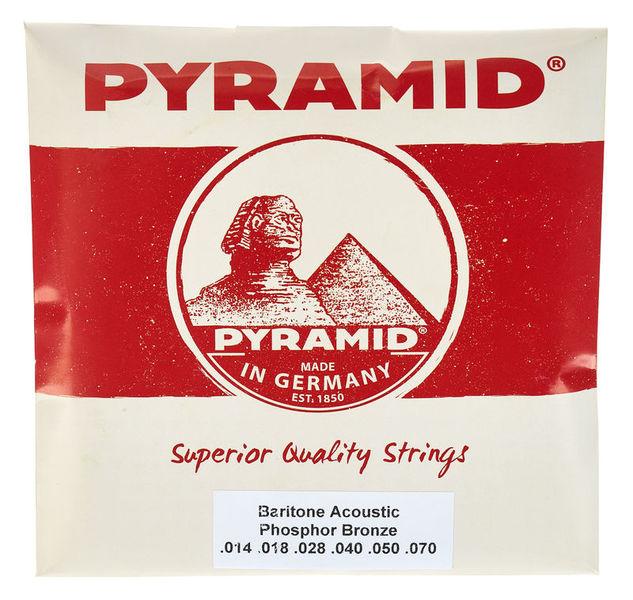 Pyramid Barítone Acoustic 014 Set