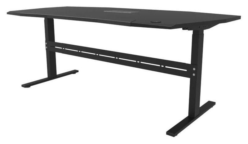 Studio Desk Orbit Platform All Black