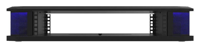 Studio Desk Orbit 2U Rack Module All Black