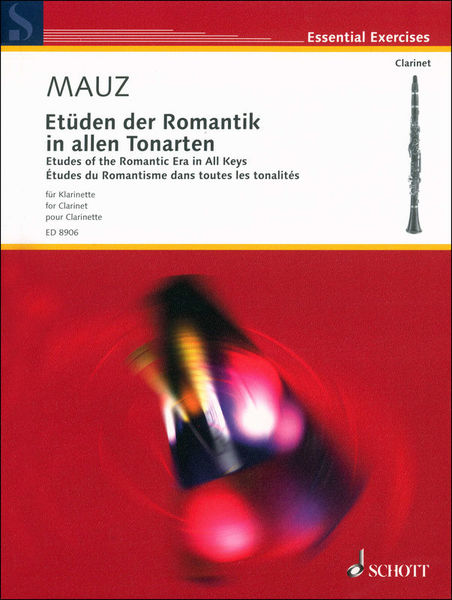Schott Etüden der Romantik Clarinet