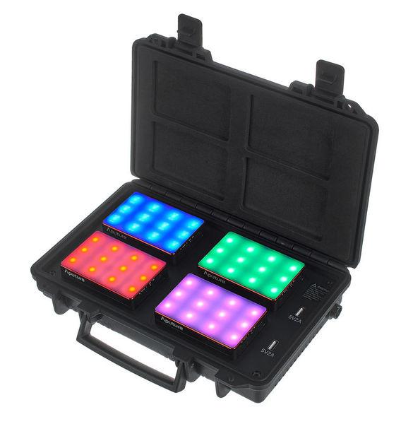 Aputure MC 4-Light Travel Kit