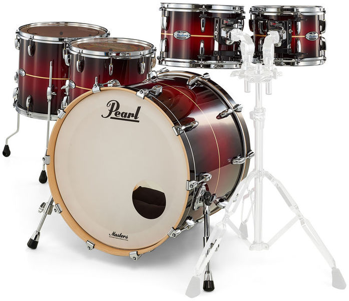 Pearl Masters Maple Compl. 5pc #836