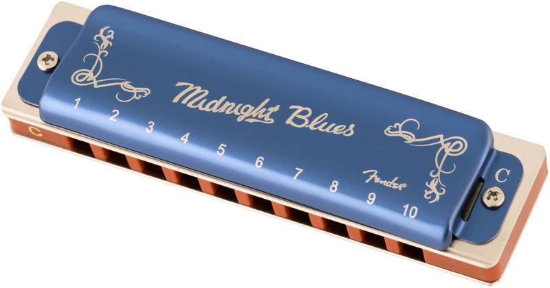 Fender Midnight Blues Harmonica in C