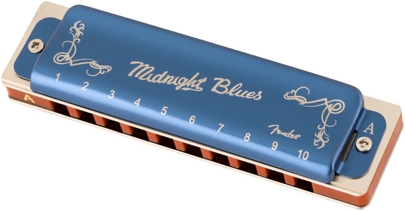 Fender Midnight Blues Harmonica in A