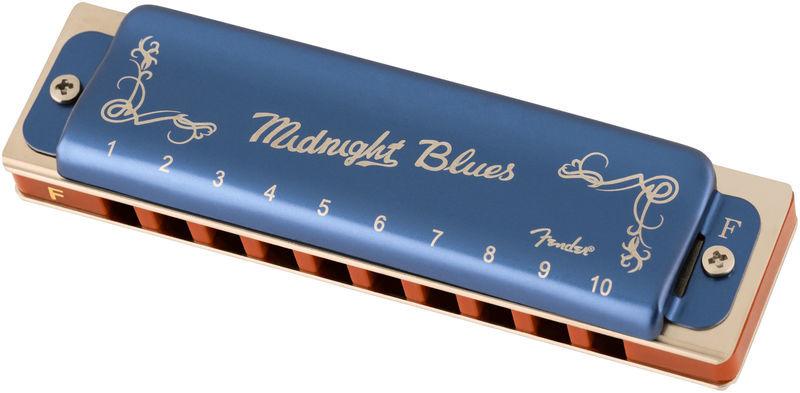 Fender Midnight Blues Harmonica in F