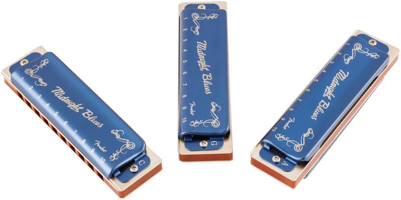 Fender Midnight Blues 3 Pack